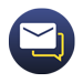 Hub plus inbox icon